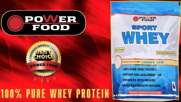 Sport Whey - идеалния протеин