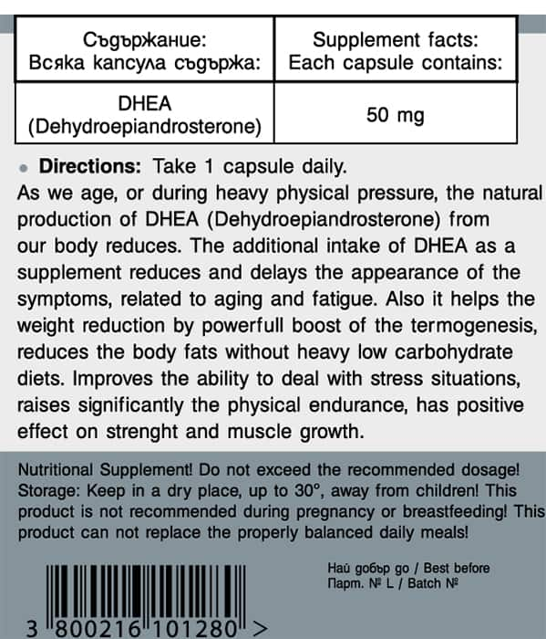 Power Food DHEA info