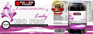 Power Food Lady ISO Pro banner