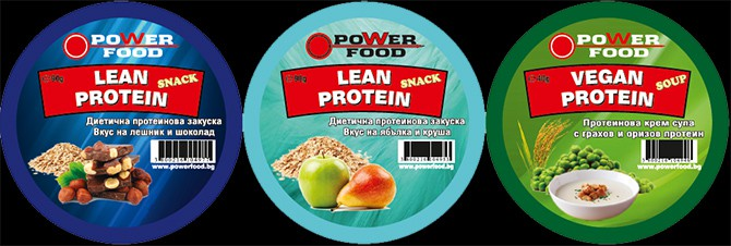 Power Food Lean Protein Snack banner