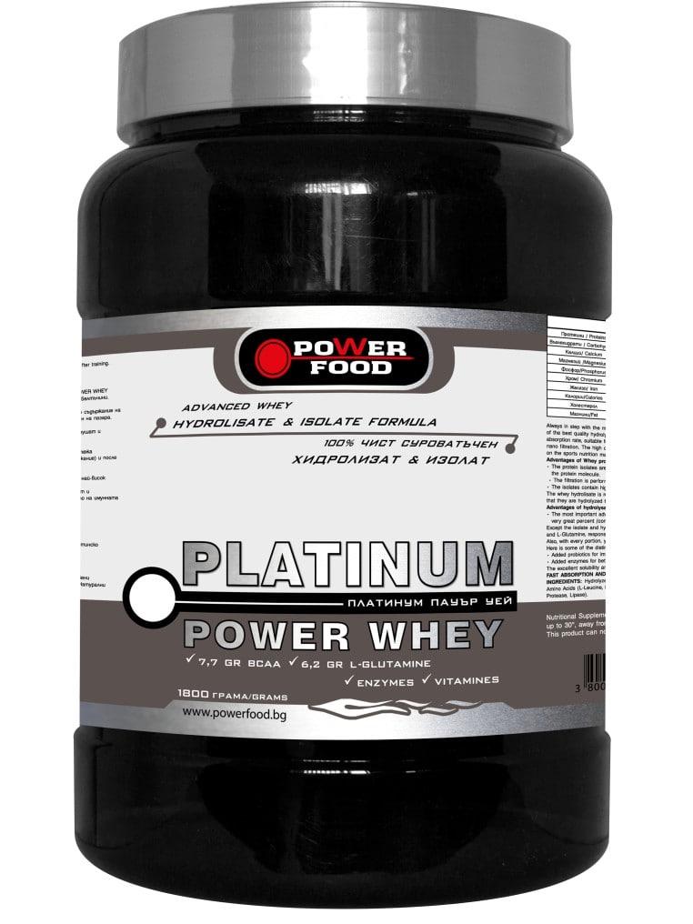 Platinum Power Whey - 1000gr