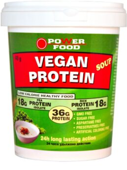 ower FOOD Vegan Protein Soup