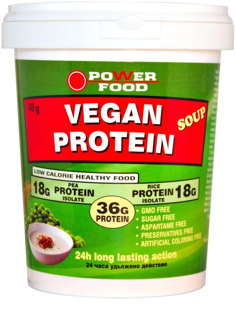 ower FOOD Vegan Protein Soup