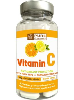 Power Food VITAMIN C - дъвчащи таблети